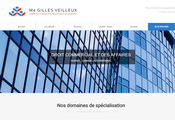 Me Gilles Veilleux | Avocat droit commercial et affaires
